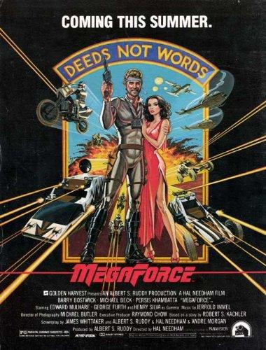 Megaforce Poster Movie C (27 x 40 Inches - 69cm x 102cm ) Barry Bostwick Persis Khambatta Edward Mulhare Henry Silva Michael Beck