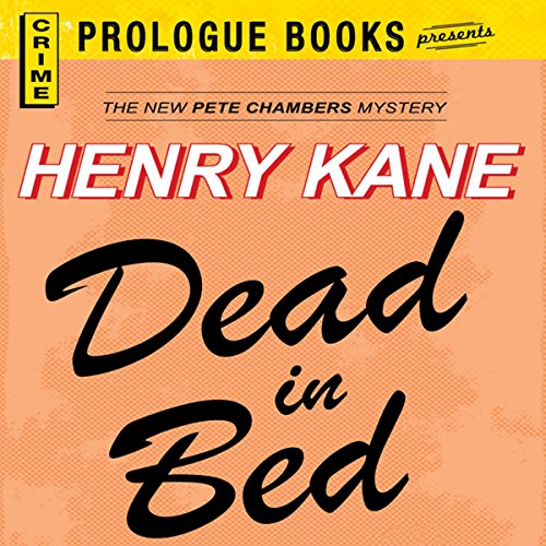 Dead in Bed audiobook cover art