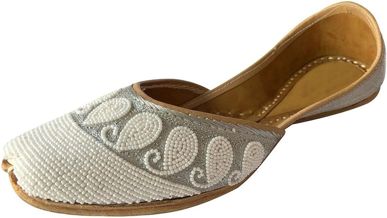 Step n Style Punjabi Jutti Indian shoes Flat Flop Khussa shoes Handmade Mojari Jooti
