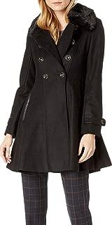 Best black fur collar wool coat Reviews