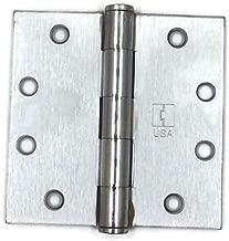 Hager Full Mortise Steel Hinge 1279 4.5 x 4.5 US26D/652 (Satin Chrome) - Box of 3 Plain Bearing hinges