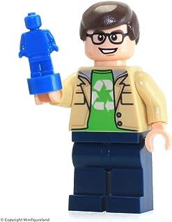 LEGO Ideas Big Bang Theory Minifigure - Leonard Hofstadter (From Set 21302)