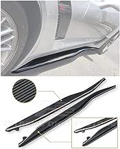 for 2014-2019 Corvette C7 EOS Z06 Performance Package Style Carbon Fiber Side Skirt Rocker Panels Extension