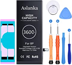 Aslanka Battery for iPhone 8 Plus, New Super High...