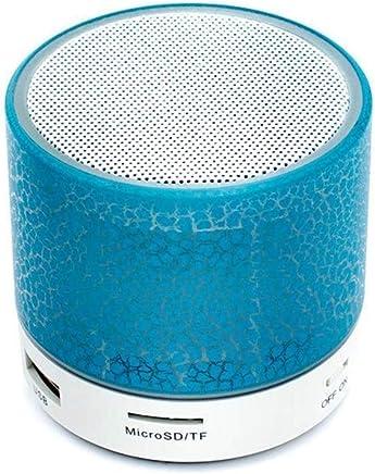 Altoparlanti portatili Altoparlante Bluetooth A9 Mini Altoparlante wireless Crack LED TF USB Subwoofer bluetooth Altoparlanti mp3 stereo audio lettore musicale (Color : Blue) - Trova i prezzi più bassi