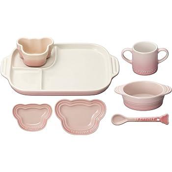 ルクルーゼ ベビー テーブルウェア セット 子供用 食器セット 耐熱 ミルキーピンク 910427-00-176