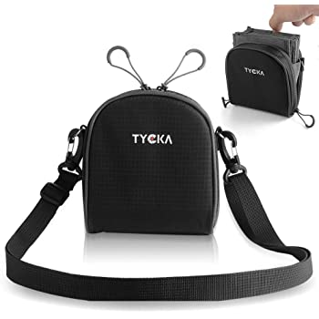 TYCKA 8- Pocket Lens Filter Pouch for Filters Up to 86mm, Belt Style Design Travel Carry Lens Filter Pouch, Water-Resistant and Dustproof Removable Inner Lining with Adjustable Shoulder Strap