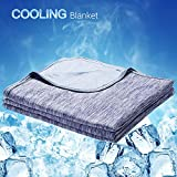 LUXEAR Cooling Blanket, Revolutionary Cool-to-Touch Technology...