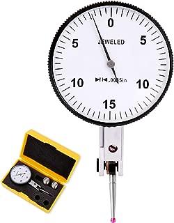 Navigator Test Dial Indicator, 8 Jewels, Accuracy +/-0.0004