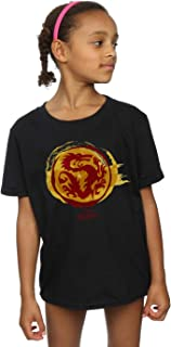Disney Girls Mulan Courage Dragon Symbol T-Shirt