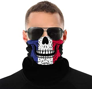 NA Cuba Flag Bandana sans Couture en Microfibre Polyester Coupe-Vent et Masque Facial et Cache-Cou pour Unisexe