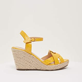 Shoexpress Strappy Espadrilles with Wedge Heels