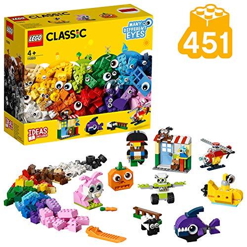 LEGO Classic - Ladrillos y Ojos, juguete didáctico y divertido para construir (11003)