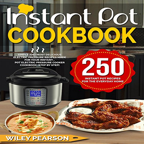 Instant Pot Cookbook audiobook cover art