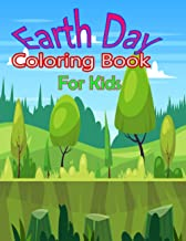 Earth Day Coloring Book for Kids: Cute Earth Day Coloring Pages for Preschool & Elementary Boys & Girls Ages 4 to 8