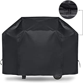 iCOVER 70 Inch Grill Cover Heavy Duty Waterproof Barbecue Gas Smoker Grill Covers, Premium UV and Fade Resistant, Fits Weber Char-Broil Nexgrill Brinkmann and More - Upgrade Version