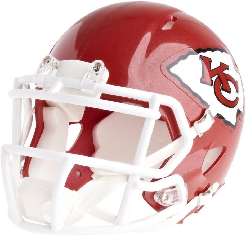 KANSAS CITY CHIEFS NFL RIDDELL MINI SPEED POCKET PRO HELMET