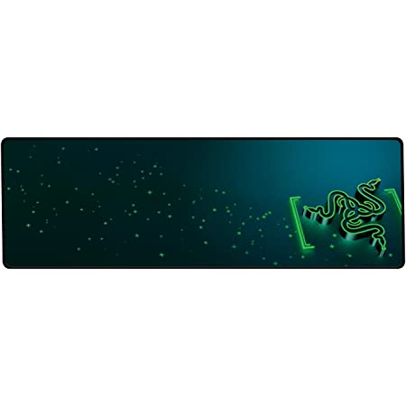 Razer Goliathus Control (Extended) Gaming Mouse Pad: Medium Friction Mat - Anti-Slip Rubber Base - Portable Cloth Design - Anti-Fraying Stitched Frame - Gravity