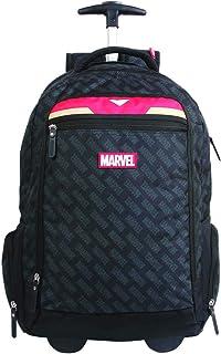 Mala Escolar Gl com Rodinhas Marvel Universe Homem de Ferro, 11471, DMW Bags