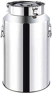 Le Lait en Acier Inoxydable Can, Heavy Duty Lait Pot à Lait Seau à vin Pail Seau Bouteille Liquide Conteneur de Stockage (...