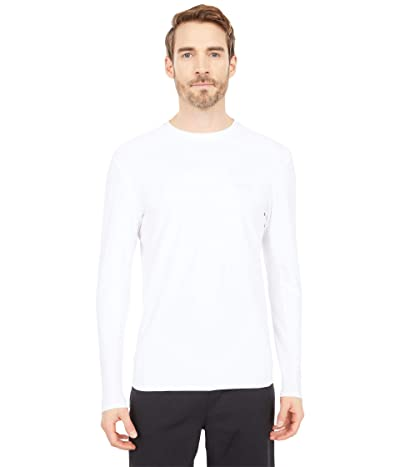 Billabong Arch Mesh Loose Fit Long Sleeve Surf Tee (White) Men