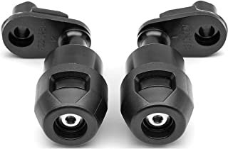 Genuine Kawasaki Accessories 18-19 Kawasaki EX400ABS Frame Sliders (Left and Right)