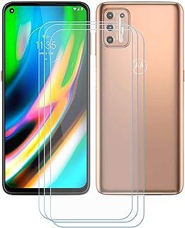"""TTJ 3 stycken skottsäkert glas skyddsfolie för Motorola Moto E7 Plus (6,5 """"), 9H härdat glas pansarglasfilm repskydd/anti-..."""