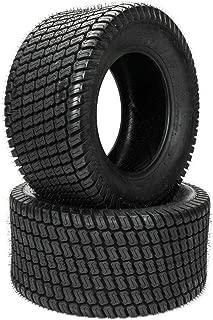 Set of 2 LRB 23x10.50x12 Lawn Mower Golf Cart Garden 23-10.5-12 Load Range B Tires 23x10.50-12 4PR P332 Tubeless Tires