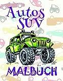 ✎ Autos SUV Malbuch: Einfaches Malbuch für Jungen von 4-10