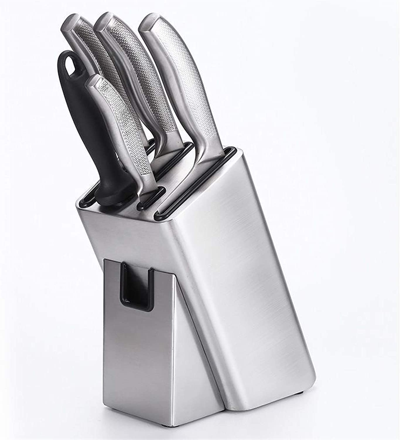 ACQUIRE Stainless Steel Kitchen Knife Hole Safety and trust Scissor Holder With 6 Inexpensive