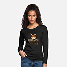Long Sleeves For Women, Easter Bunny Kiss Me Chocolate H, Cadine T Shirt Unisex, Tee Shirt For Men, Shirt For Women,
