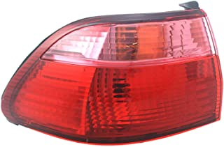 Garage-Pro Tail Light for HONDA ACCORD 98-00 LH Outer Assembly Sedan