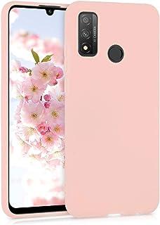 kwmobile telefoonhoesje compatibel met Huawei P Smart (2020) - Hoesje voor smartphone - Back cover in mat roségoud