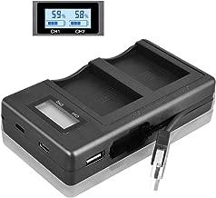 LP-E12 LPE12 LP E12 LCD USB Dual Digital Camera Battery Charger for Canon M 100D Kiss X7 Rebel SL1 EOS M10 EOS M50 DSLR