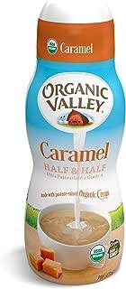 Organic Valley, Organic Caramel Half and Half - 16 oz Pint
