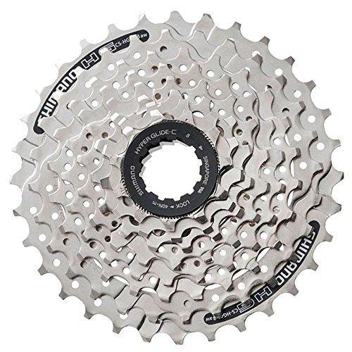 SHIMANO HG41 Cassette, Ciclismo, Plata, 11/32