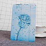 Hannuo Étui pour Samsung Galaxy Tab A T550 T555 SM-T550 9.7 Housse de Couverture de Tablette à...