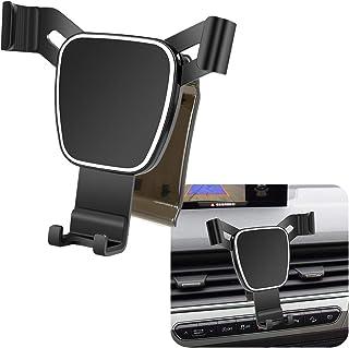 LUNQIN Car Phone Holder for 2016-2019 Audi Q7 Auto Accessories Navigation Bracket Interior Decoration Mobile Cell Phone Mount