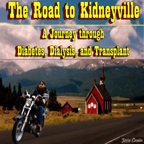 The Road to Kidneyville audiobook cover art