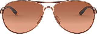 Women's OO4079 Feedback Metal Sunglasses, Rose Gold/Vr50...