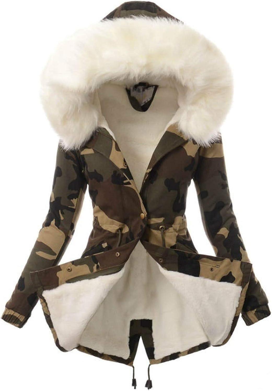 MRULIC Kapuzenjacke Damen Outwear Langarm Warm Bequem Kapuzenpullover Herbst Winter Mantel Jacke Tops Hoodie Sportswear Kapuz Trenchcoat Wollmantel Weiß