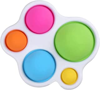 DZQRN Fidget Toys, Fidget Toy Anti Stress Enfant Objet Satisfaisant aux Jouets en Silicone,Jouets Adaptés aux Cadeaux de J...