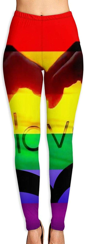 Yoga Pants for Women Rainbow Workou Finally resale start Womens Leggings Running Love Store