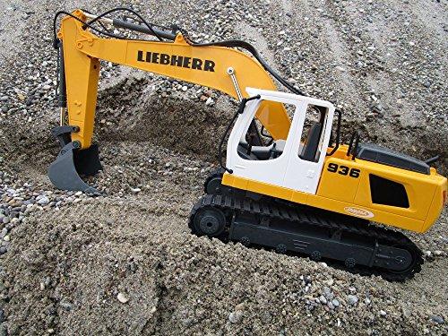 RC Baufahrzeug kaufen Baufahrzeug Bild 1: RC Bagger Liebherr R936 1:20 2,4G Destruction-Set Ferngesteuertes