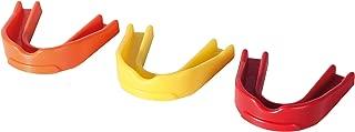 OPTIMUM 男孩 Multi - X mouthguards (6支装) JNR ,黄色/红色 / 橙色