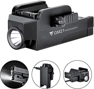 TrustFire GM21 Pistol Light 510 Lumens Glock Weapon Rail Mounted Flashlight,USB Rechargeable Quick Release