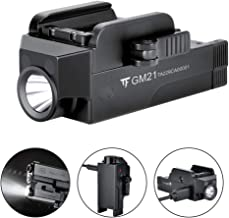 TrustFire GM21 Pistol Light 510 Lumens Glock Weapon Rail Mounted Flashlight,USB Rechargeable Quick Release