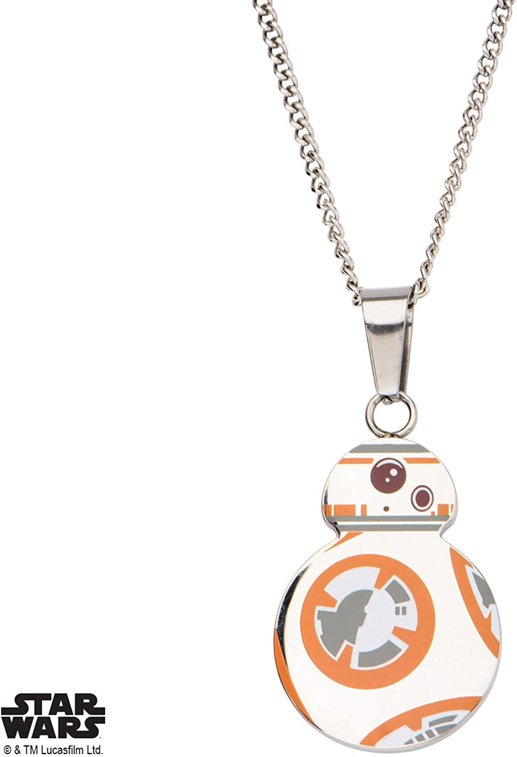 Star Wars The Force Awakens BB8 Cutout Necklace
