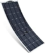 XINPUGUANG 100 Watt Flexible Solar Panel 12 Volt with Monocrystalline Solar Cells Solar Power System Solar Panels for 12V Battery Charging(100W)
