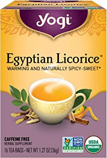 Yogi Tea, Egyptian Licorice, 16 Count